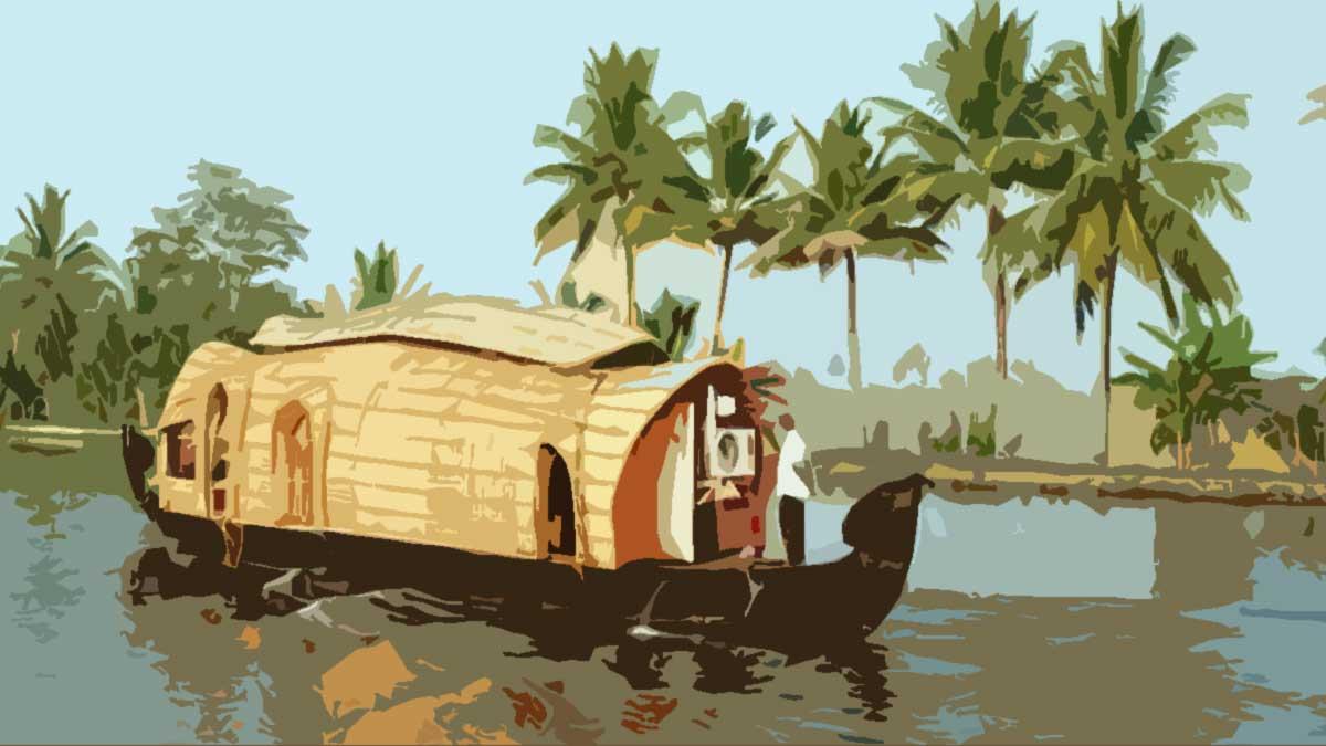 Kerala Backwaters Houseboat Tour