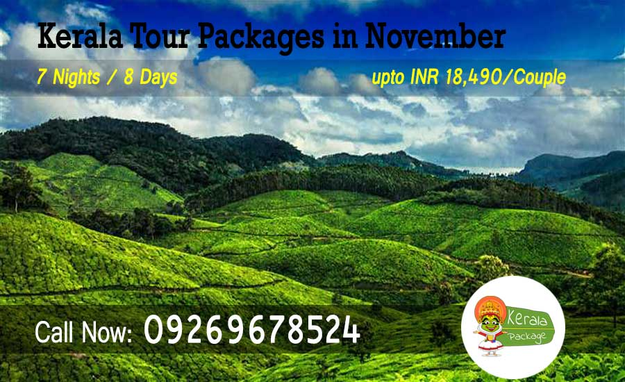 Kerala tour packages in November