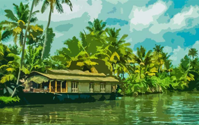 Delhi to Kerala Tour Packages