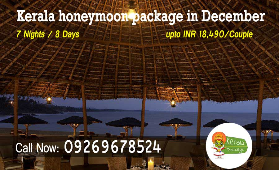 Best romantic Kerala honeymoon packages in December