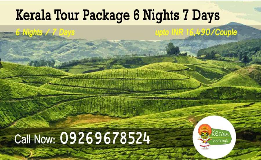 6 Nights 7 Days Kerala Tour Package