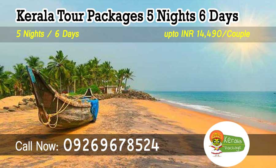5 nights 6 days Kerala tour package