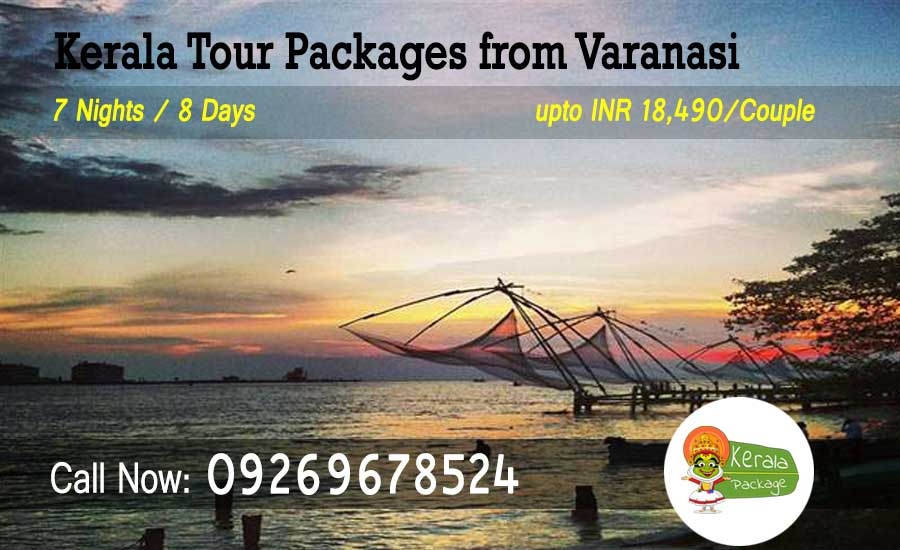 Kerala Tour Packages from Varanasi