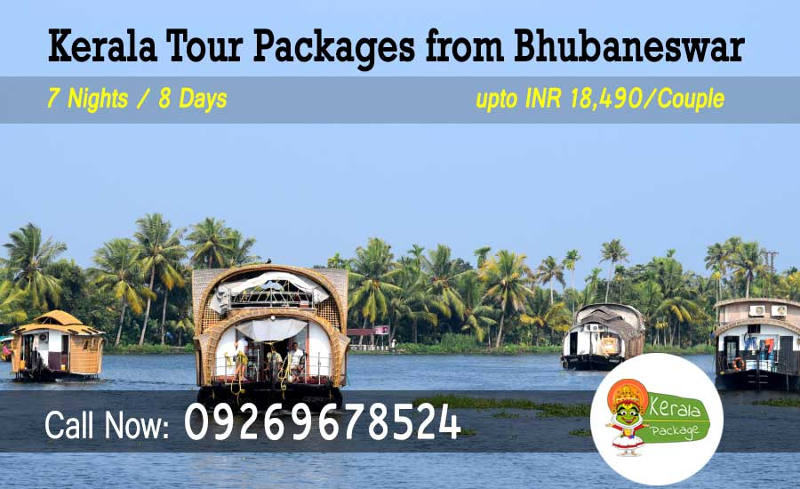 Kerala tour package from Bhubaneswar