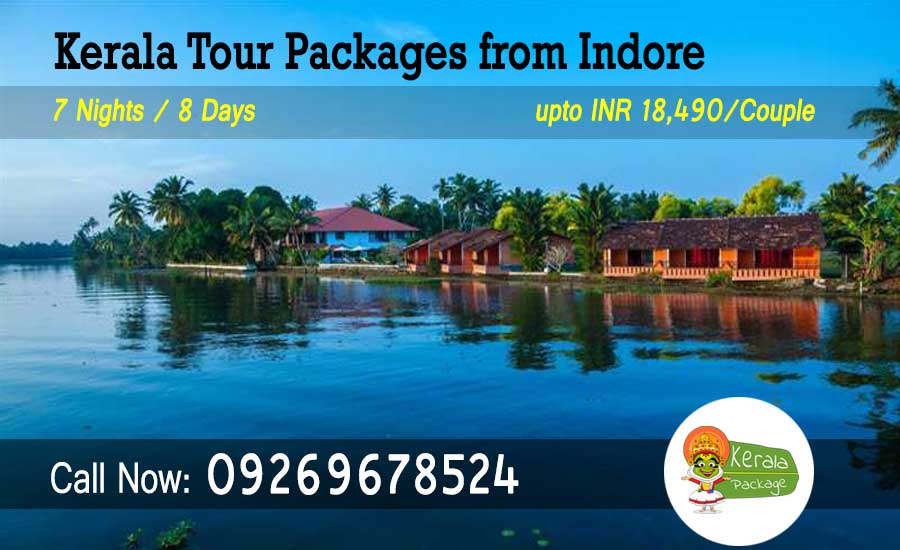 Kerala tour packages from Indore