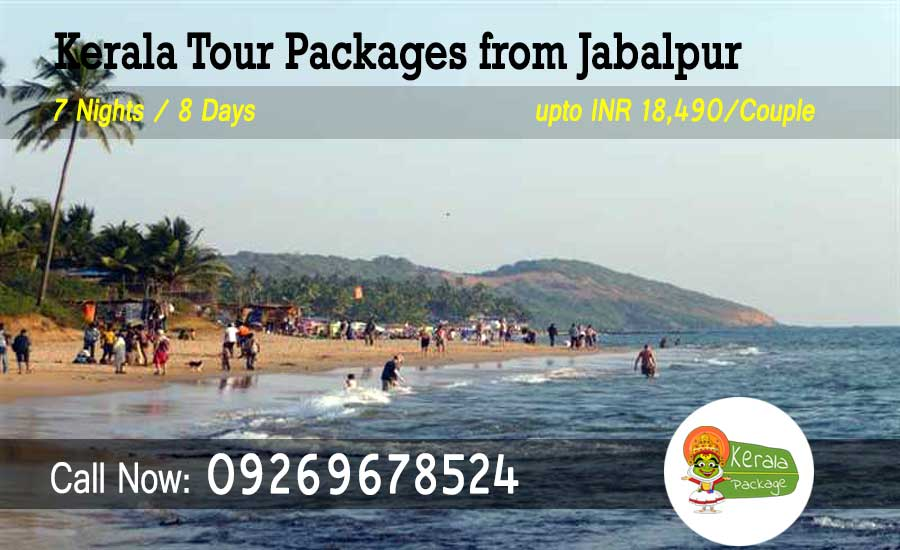 Kerala tour packages from Jabalpur