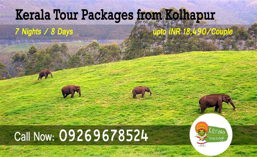 Kerala tour packages from Kolhapur