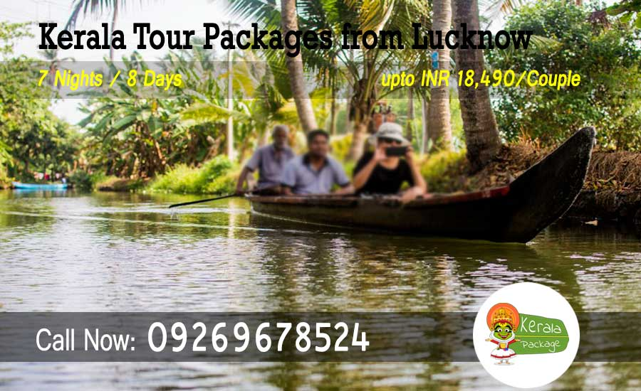 Kerala tour packages from Lucknow