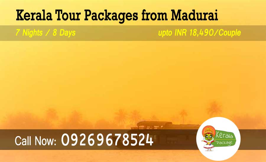 Kerala tour packages from Madurai