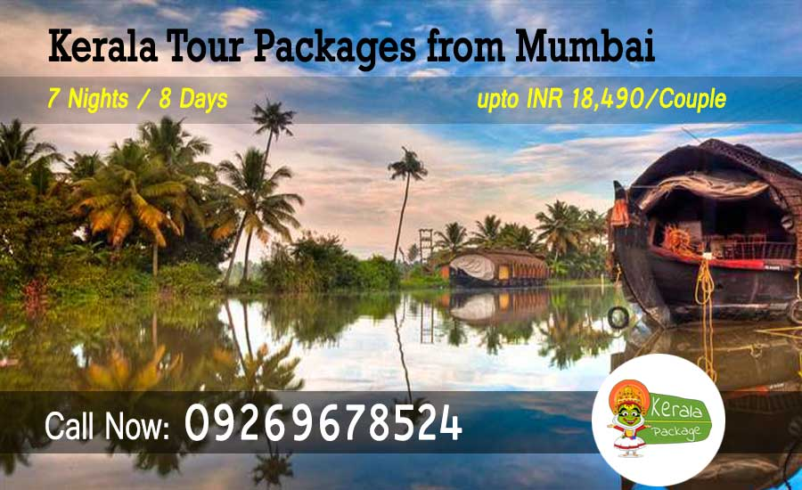 Kerala tour packages from Mumbai