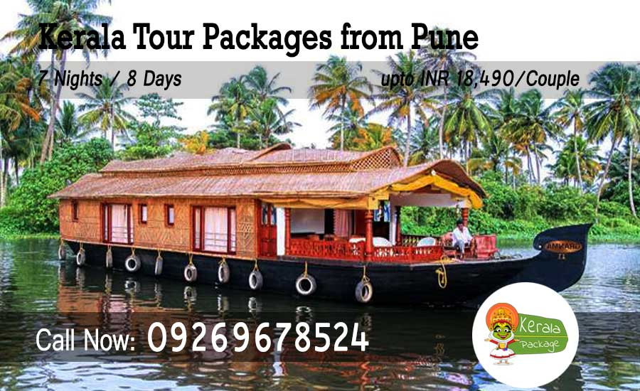 Kerala tour package from Pune