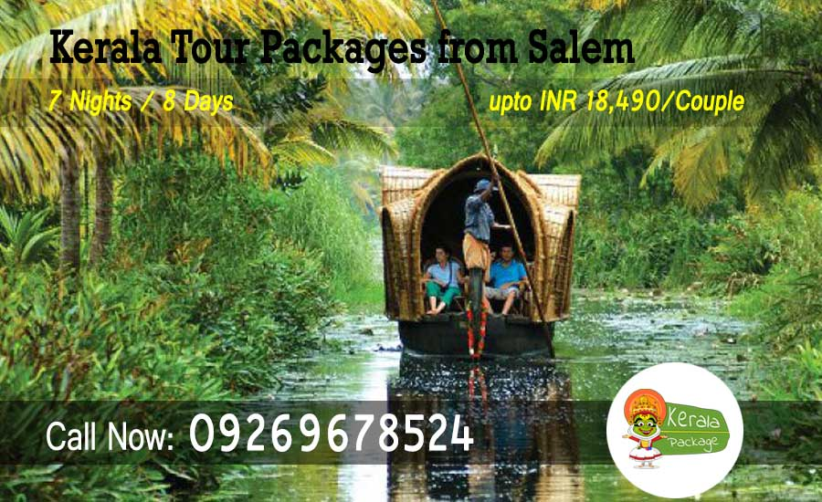 Kerala tour packages from Salem