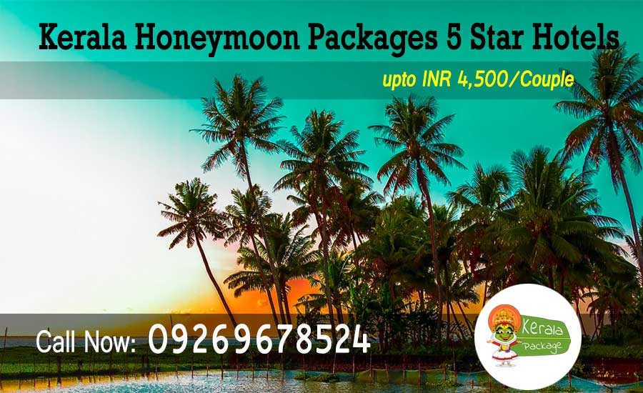 Kerala Honeymoon Package 5 Star Hotels