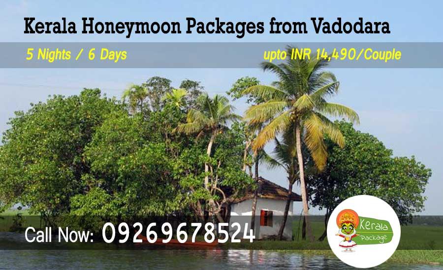 Kerala Honeymoon Packages from Vadodara