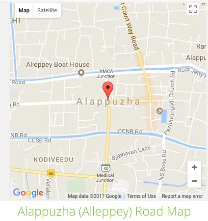 Kozhikode International Airport Google Map