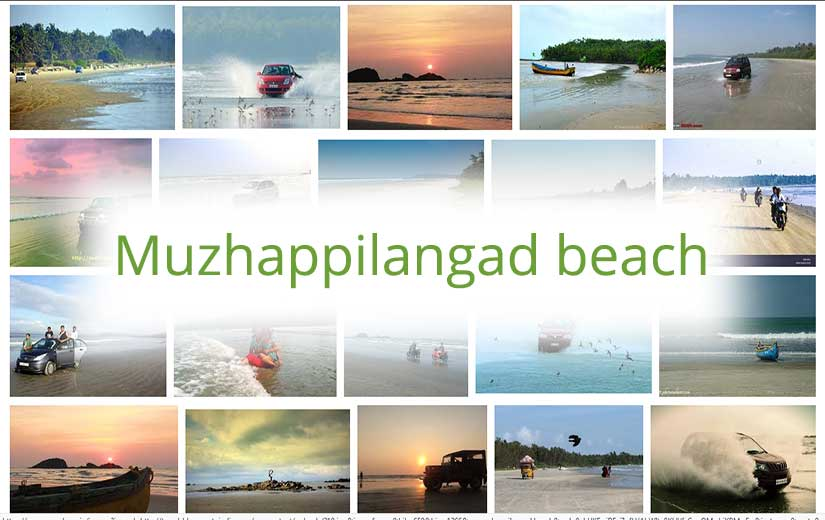 Muzhappilangad beach tourism