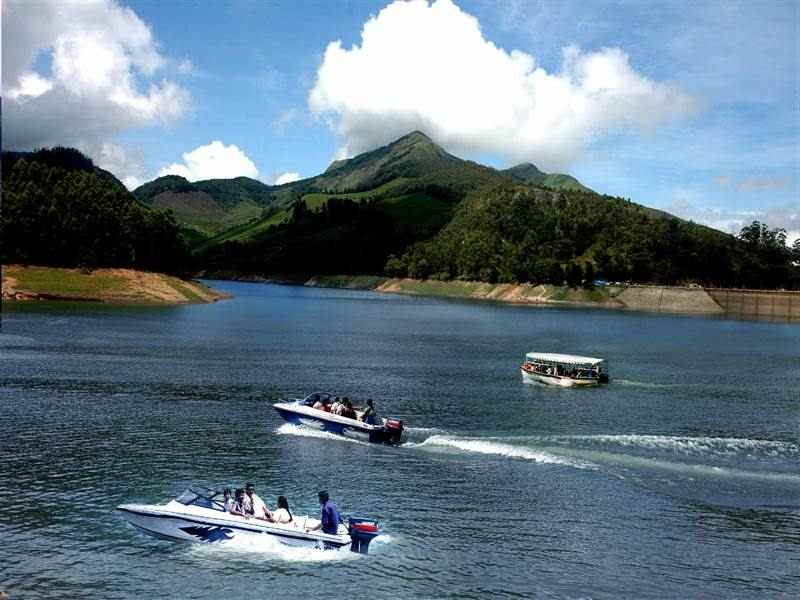Thekkady Periyar Boating
