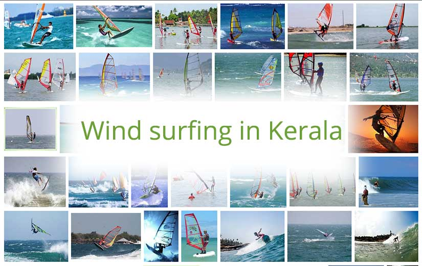 Wind surfing in Kerala