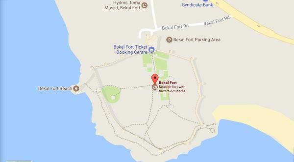 bekal fort google map
