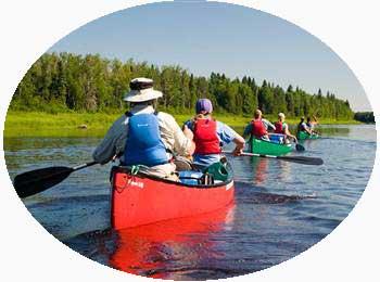 Canoeing in Kerala India
