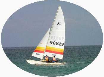 Catamaran Sailing in Kerala India
