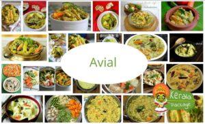 Avial Kerala Sadya dish
