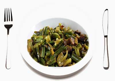 Mezhukkupuratti dish Kerala