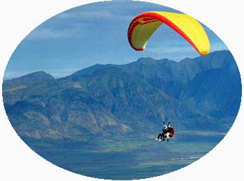 Paragliding in Kerala India