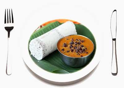 Puttu dish Kerala