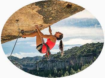 Rock climbing in Kerala India