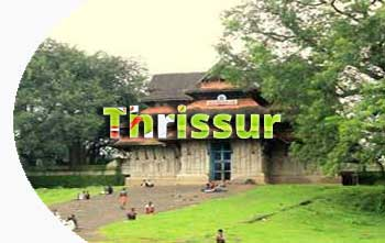 Thrissur in Kerala