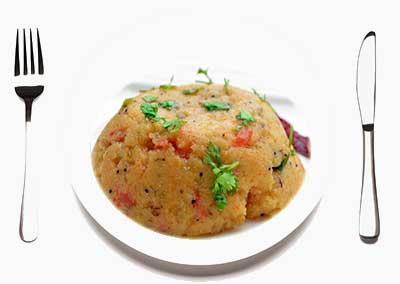Upma dish Kerala