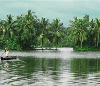 Akkulam Tourist Village in Kerala