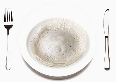 Paal Appam dish Kerala
