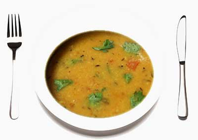 Sambar Parippu dish Kerala