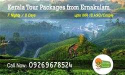 Ernakulam to Kerala tour packages