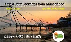 Ahmedabad to Kerala tour packages