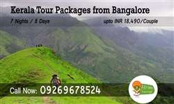 Bangalore to Kerala tour packages