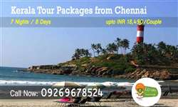 Chennai to Kerala tour packages