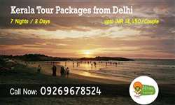 Delhi to Kerala tour packages