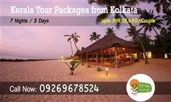 Kolkata to Kerala tour packages
