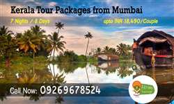 Mumbai to Kerala tour packages