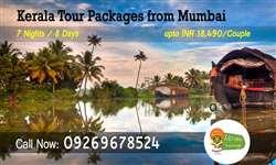 Mumbai to Kerala tour packages