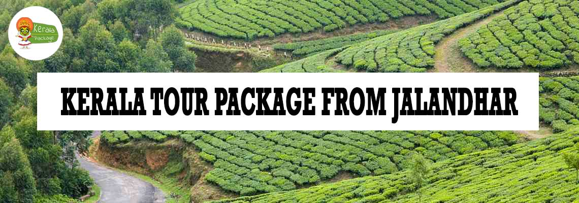 Kerala tour package from Jalandhar
