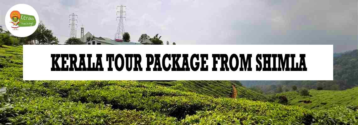 Kerala tour package from Shimla