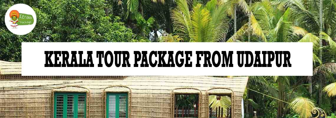 Kerala tour package from Udaipur